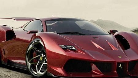法拉利F40重新设计为令人惊叹的现代超级跑车