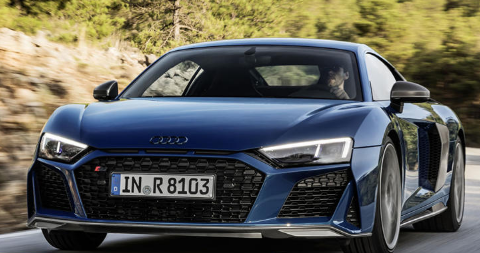 2019年奥迪R8以更多的动力和新颖的设计锐化