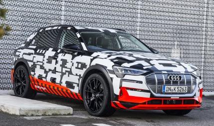奥迪将推出e-tron这是德国汽车制造商首次涉足电动SUV领域