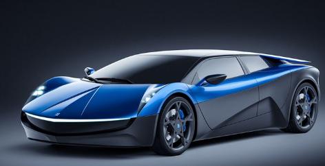 Elextra电动超级跑车将具有革命性的传动系统