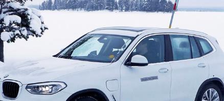 这是宝马iX3电动SUV的早期外观