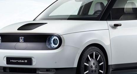 电动本田E生产版在法兰克福首次亮相前亮相