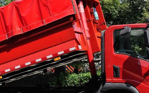 深度了解大运祥龙国六自卸式垃圾车