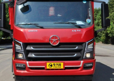 大运祥龙国六自卸式垃圾车就是专用来运输建筑垃圾车