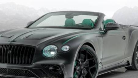 宾利的4.0升双涡轮增压V8发动机配备了新的排气装置