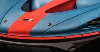 迈凯轮P1 GTR从兰赞特获得了华丽的F1风格海湾墨西哥风