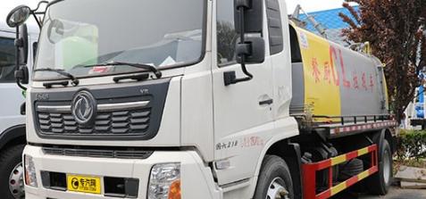 东风天锦VR国六餐厨垃圾车新型垃圾转运设备