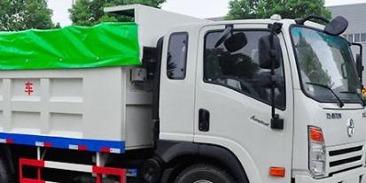 给大家介绍下自卸式垃圾车的上装配置