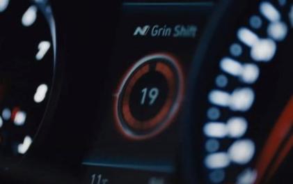 2020年现代Veloster N预告片确认新的自动变速箱