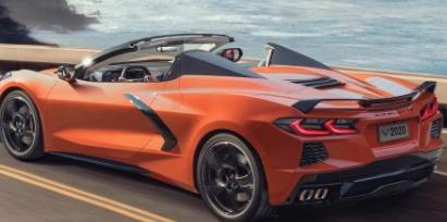 2020年雪佛兰克尔维特黄貂鱼敞篷车发布