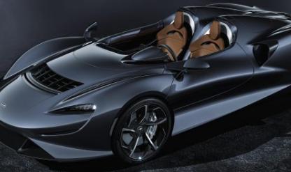 迈凯轮埃尔瓦透露 新的开放式终极系列车型