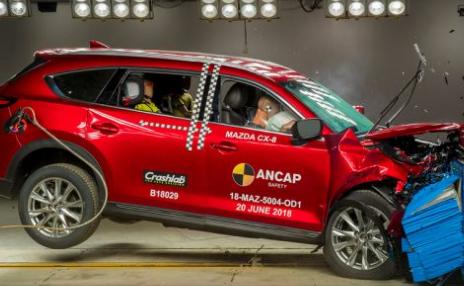 马自达CX-8和沃尔沃XC40得分5星ANCAP安全评级