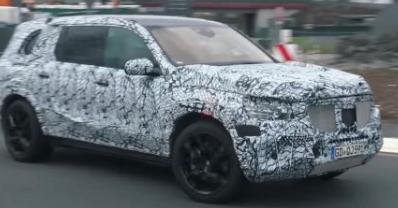 2020梅赛德斯-奔驰GLS在纽伯格林发现