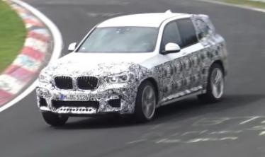 宝马已经发现将以原型形式测试最新G01 BMW X3的正确M版本
