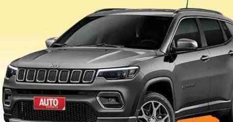 Jeep官方发布了一张新款指南者的预告图 其展示了新车的中网细节