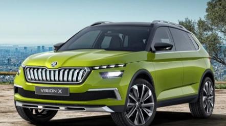 斯柯达Vision X Concept展示了CNG混合动力传动系统