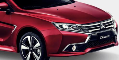 新款三菱Grand Lancer配备1.8升汽油发动机和四个自然吸气动力