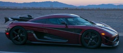 科尼赛克Agera RS创造了最高速度记录 是世界上最快的汽车
