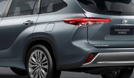 丰田汉兰达7座混合动力SUV规格和详细信息