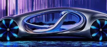 梅赛德斯奔驰在CES上展示了受阿凡达启发的具有远见的概念