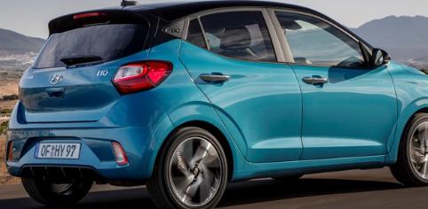 现代汽车宣布 其新款i10城市汽车的售价为12495英镑