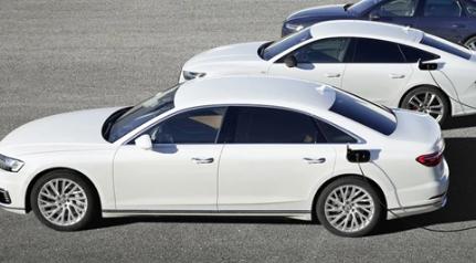 奥迪宣布推出新型插入式TFSI e车型