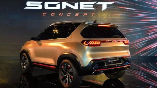 起亚Sonet窥探生产规格的铝合金轮毂
