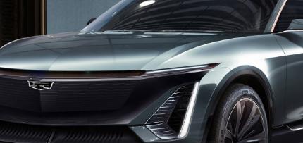 通用汽车发布凯迪拉克Lyriq电动SUV的设计细节