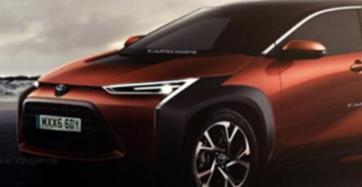 有外媒绘制了丰田全新纯电动SUV的效果图