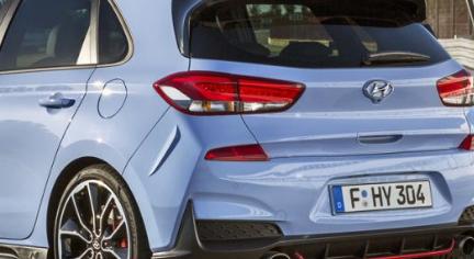 南非现代i30 N掀背车 当地价格终于确定