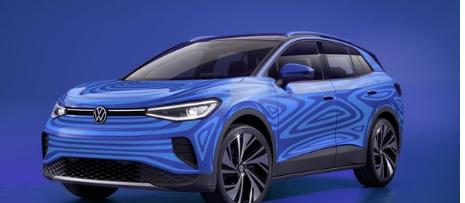 大众以生产形式展示更多ID.4电动SUV