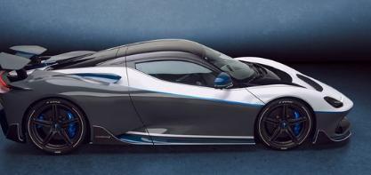 宾尼法利纳的Battista EV超级跑车增加了超稀有周年纪念模型