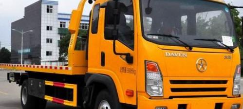 道路清障车简称清障车 它主要是用来清理事故车辆等