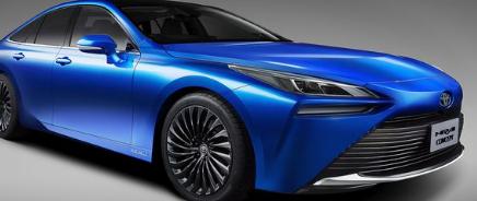 2021年丰田Mirai燃料电池轿车进入第二代RWD