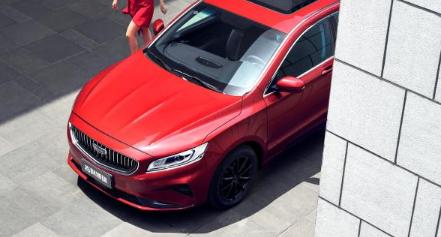 吉利汽车官方发布了新款博瑞车型的官图