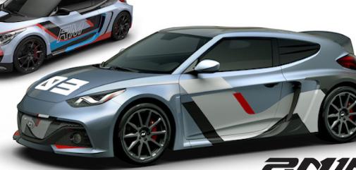 后轮驱动现代RM16展示了N高性能品牌