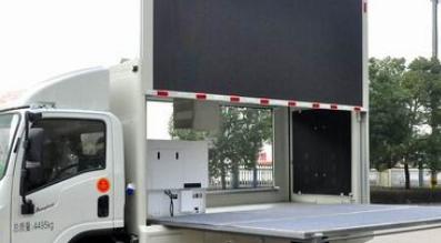 LED广告宣传车的过程中 会遇到发电机组一些小故障
