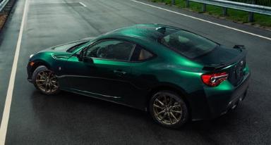 这款出色的绿色版丰田86即将在美国上市