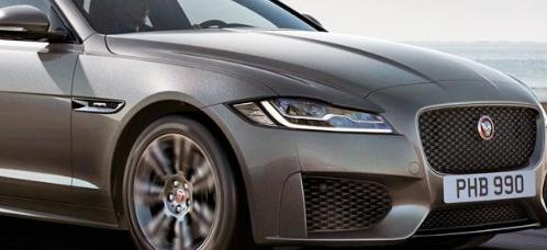 捷豹已经披露了新的XF方格旗特别版车型