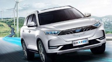 长安欧尚旗下全新纯电动紧凑型SUV欧尚X7 EV正式上市