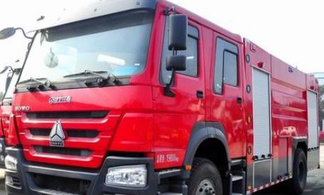 泡沫消防车在灭火作业后 要小心加以保养