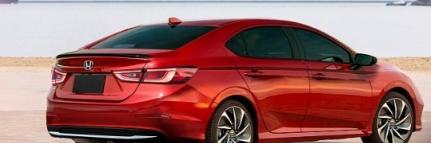2022年本田思域渲染与洞察力提示轿跑车的车身风格可能不会回来