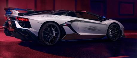 兰博基尼Aventador SVJ Xago超越了这个世界