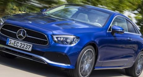 梅赛德斯-奔驰宣布重新设计的E级双门跑车和敞篷车的价格