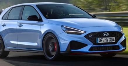2021年现代i30N亮相更多动力8 速自动和推入式模式