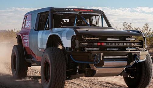 福特与野马建立新的越野赛车队