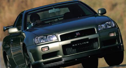 传奇的R34代日产Skyline GT-R就有资格进口到美国
