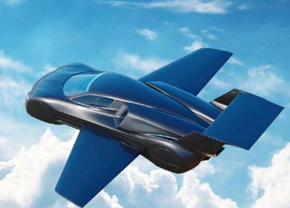 这款飞行的超级跑车由特斯拉提供动力