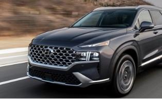2021现代Santa Fe在美国获得2.5L涡轮增压 高效1.6L混合动力车