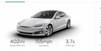 特斯拉Model S现在更便宜 远程Plus起价71990美元